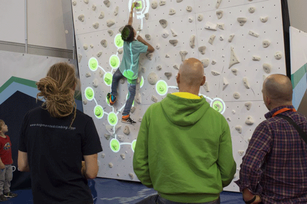 Augmented Climbing Wall Augmented-Problemsプレイイメージ