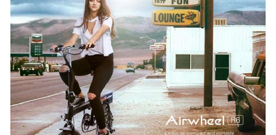 AirWheel R6 電動アシストバイク