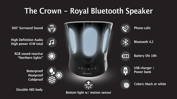 Crown ドリンク スピーカー2