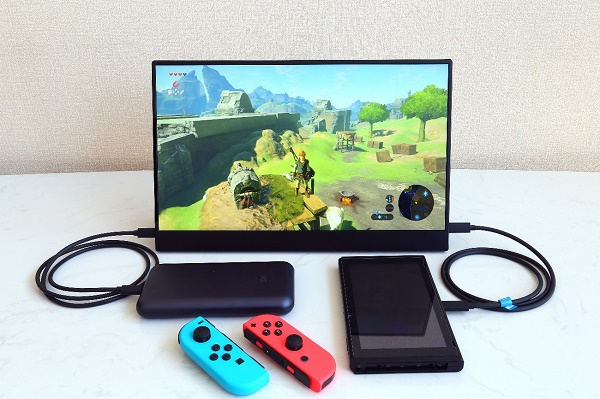 Nintendo Switchへの接続例